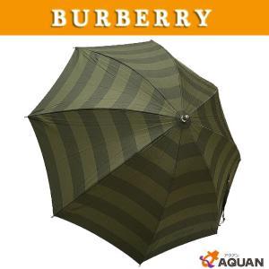 BURBERRY バーバリー 日傘 カサ 長傘 晴雨兼用 カーキ 未使用|aquankyoya