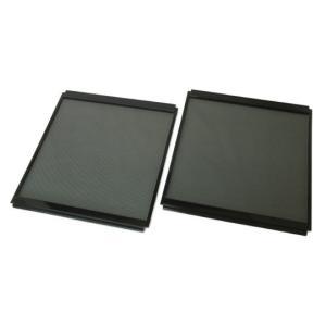 パンテオン4535や6035の側面を、メッシュパネルに変更できる専用パーツです。 樹脂製の枠の色が黒...