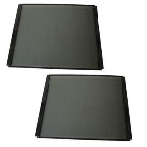 パンテオン6045や9045の側面を、メッシュパネルに変更できる専用パーツです。 樹脂製の枠の色が黒...