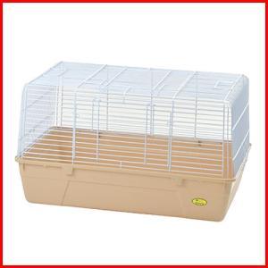 軽量・コンパクト・シンプル設計でお手入れも簡単な小動物用ケージです。  前面と天板の2ヶ所に扉があり...