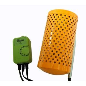 アサヒ 電子サーモスタット+ペットヒーター60W 2点保温セット ☆|aquapet