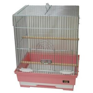 GB 325-S(角) Gメッキ網 底色ピンク[組立てた状態でのお届けになります]