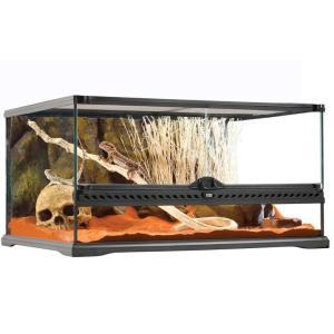機能的で、デザイン性に優れた爬虫類・両生類用ケージです。 両開きの前面ドアなので、メンテナンスや給餌...