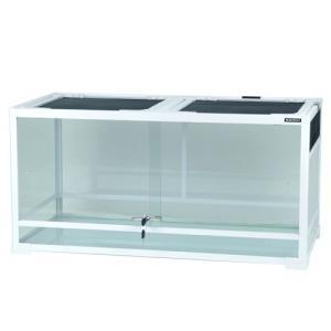 内部の支柱で支えられた安定感のある業界初の組立て式ガラスケース。 高さと奥行きを兼ね備えたゆとりのケ...