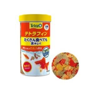 金魚のエサ フレーク フード 餌/ テトラフィン52g aquapet