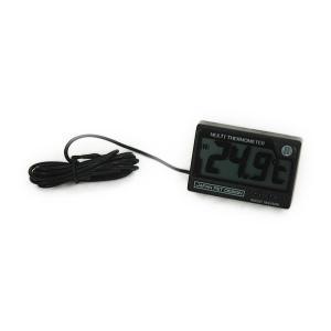 熱帯魚、金魚などの水温測定にデジタル水温計!  ●気温と水温を測定できるデジタル水温計です。 ●過去...
