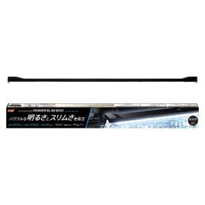 【セール】GEX クリアLED パワースリム600 ブラック / 枠付き フレームレス設置可能 60...