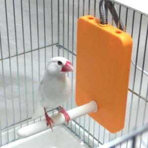 【小鳥の日】マルカン ほっととり暖 寄りそいヒーター RH-300☆