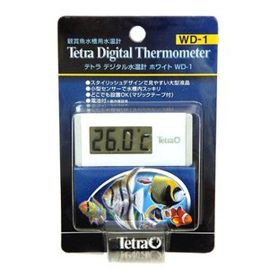 デジタル画面で見やすい水槽用水温計  ・画面が大きく、数字が見やすい。 ・センサーは小型で水槽内で目...