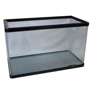 60cmのコーナー曲げガラス水槽です。  熱帯魚飼育はもちろんのこと、海水魚、金魚飼育にも適していま...