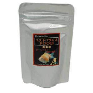 特級品質! 食い付が違う!! ベストバランスフード 金魚用小粒 50g|aquapet