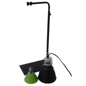 カーボンペットヒータースタンドセット 小鳥ケージ/保温器具/照射/速暖/ハ虫類ケージ|aquapet
