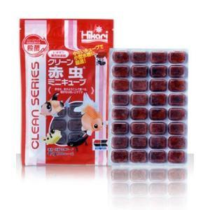 冷凍 クリーン赤虫ミニキューブ 1枚 【通常商品と同梱不可】 別途冷凍便代金加算 aquapet