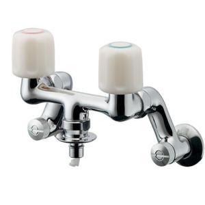 カクダイ 洗濯機用水栓(ストッパー付き) 127-303 aquashop07