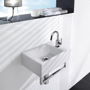 リラインス 壁付型手洗器 Villeroy&Boch(ビレロイ&ボッホ) MEMENTOメメント 5333.41.01SET|aquashop07