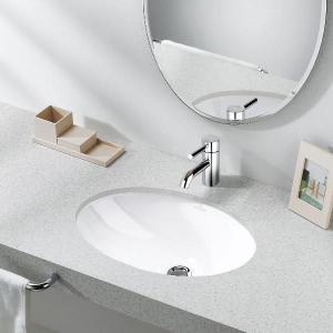 リラインス アンダーカウンター手洗器 Villeroy&Boch(ビレロイ&ボッホ) EVANAエヴァナ 6147.00.01|aquashop07