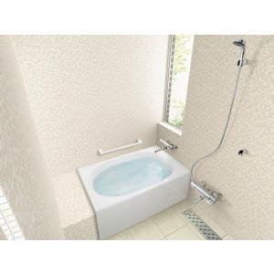 INAX 浴槽 グラスティN浴槽 1200サイズ(エプロン1方半) ABN-1201A|aquashop07