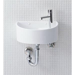 LIXIL INAX 狭小手洗器(Pトラップ) AWL-33(P) YAWL-33(P)|aquashop07