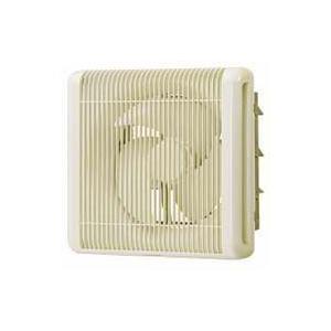 三菱電機 業務用有圧換気扇 電動シャッター付 排気専用 格子タイプ(ホワイト) EFG-25KSB-W|aquashop07