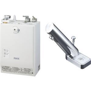 LIXIL INAX ゆプラス 自動水栓一体型壁掛 適温出湯スーパー節電タイプ 3L オートマージュA 手動スイッチ付 EHMN-CA3ECSA2-201|aquashop07