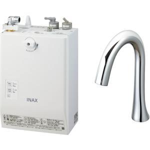 LIXIL INAX ゆプラス 自動水栓一体型壁掛 適温出湯スーパー節電タイプ 3L グースネックタイプ EHMN-CA3ECSB1-210C|aquashop07