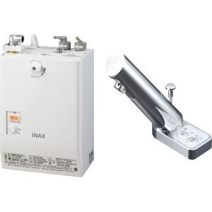 LIXIL INAX ゆプラス 自動水栓一体型壁掛 適温出湯タイプ 3L オートマージュA手動・湯水切替スイッチ付 EHMN-CA3SA3-203|aquashop07