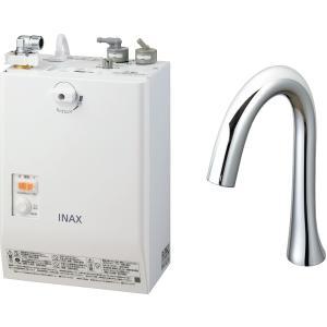 LIXIL INAX ゆプラス 自動水栓一体型壁掛 適温出湯タイプ 3L グースネックタイプ EHMN-CA3SB1-210C|aquashop07