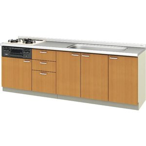 LIXIL サンウェーブ 取替えキッチン パッとりくん 間口240cm GKシリーズ GKW-U-240RNB GKF-U-240RNB|aquashop07