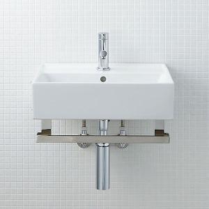 INAX サティス洗面器(YL-555タイプ) メタルバーセット YL-D555YSYG(C) YL-D555YSYC(C) YL-D555YSYP(C) YL-D555YSYA(C)|aquashop07