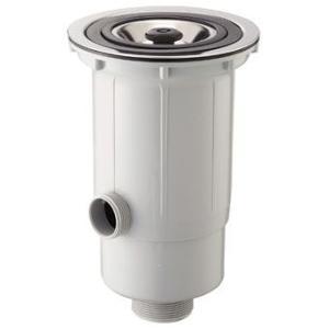 三栄水栓 流し台トラップ(流し排水栓) H651A|aquashop07