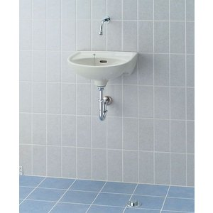 INAX 壁付手洗器 (足踏式手洗単水栓) L-15BG + LF-45A|aquashop07