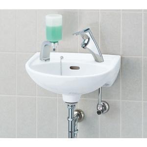 INAX 壁付手洗器 (シングルレバー単水栓) L-15G + LF-47|aquashop07