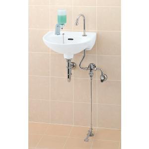 INAX 壁付手洗器 (足踏式手洗単水栓) L-15G + LF-43U|aquashop07