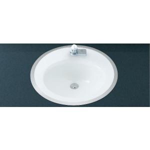 INAX フレーム式洗面器 (手動スイッチ付自動水栓セット) L-2584FC + AM-201V1|aquashop07