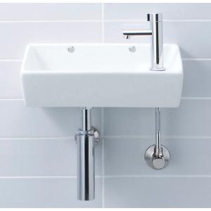 LIXIL INAX 手洗器 壁付式 L-35 + LF-48|aquashop07