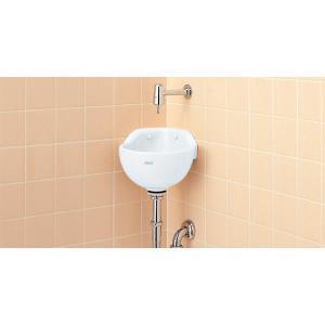 INAX 隅付手洗器 (手洗衛生フラッシュ弁) L-92 + LF-80|aquashop07