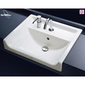 TOTO カウンター式セルフリミング式洗面器セット L350CM + TENA12A + TS127AMN|aquashop07