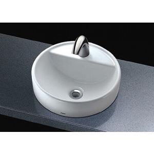 TOTO ベッセル式手洗器(丸形) 自動水栓(単水栓) L652D + TENA40A|aquashop07