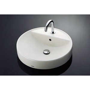 TOTO 丸形洗面器セット L700C + TENA22AW|aquashop07
