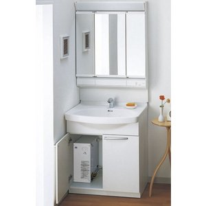 TOTO 電気温水器付洗面化粧台 Aシリーズ LDA756BYHRA + LMA752KCR|aquashop07