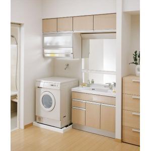 TOTO 洗面化粧台 スリムシリーズ LDSJ90LAMRM + LMJ900HR + LPJ904AK|aquashop07