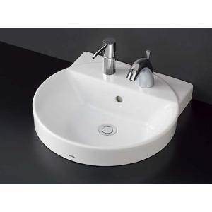 TOTO カウンター式丸形洗面器セット ベッセル式 LS704CM + TENA41A|aquashop07