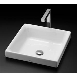 TOTO カウンター式角形洗面器セット ベッセル式 LS715 + TENA12EL|aquashop07