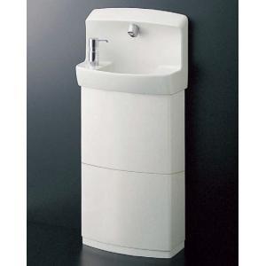 TOTO コンパクト手洗器 自動水栓(AC100Vタイプ) 水石けん入れ・トラップカバー付 LSE870APFRM LSE870ASFRM aquashop07