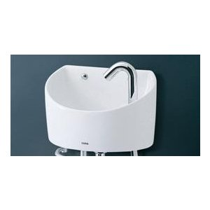 TOTO 壁掛手洗器(丸形) 自動水栓(ボトルトラップ・壁給水・壁排水) LSE90BAPR LSE90BAPRT aquashop07