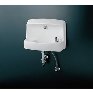 TOTO コンパクト手洗器(ハンドル式水栓) LSL870AP LSL870AS|aquashop07