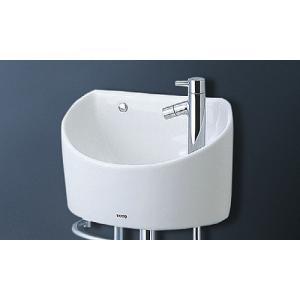 TOTO 壁掛手洗器(丸形) 立水栓(壁給水・床排水) LSH90AASN LSH90AASNT aquashop07