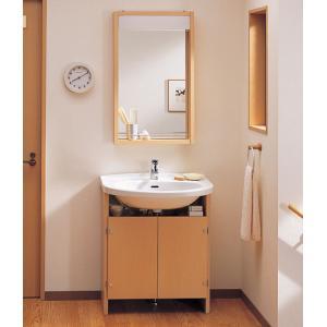TOTO 洗面化粧台 モデアシリーズ LDD700AMSN + LMD520R|aquashop07