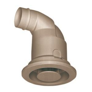 三菱電機 ロスナイシステム部材 Φ50mm接続用給排気グリル 丸形(ブラウン) P-05GC-BR|aquashop07