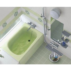 TOTO 浴槽 ネオマーブバス 一方半エプロン ゴム栓式排水栓 1000サイズ PNS1001R PNS1001L|aquashop07